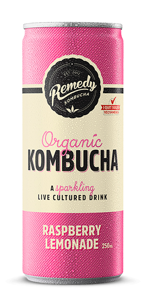 Kombucha - 250ml - Raspberry Lemonade