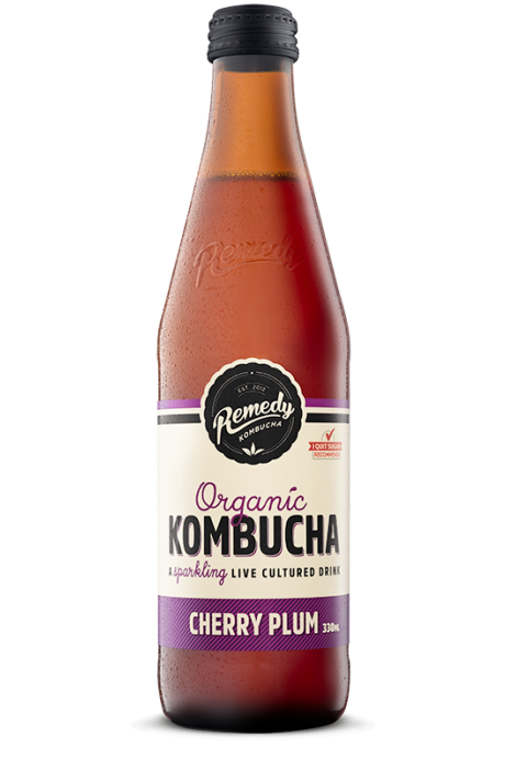 Kombucha - 330ml - Cherry Plum