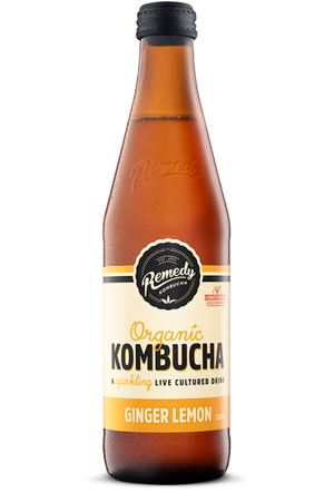 Kombucha - 330ml - Ginger Lemon