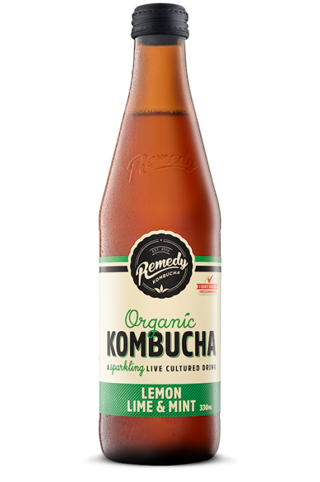 Kombucha - 330ml - Lemon Lime & Mint