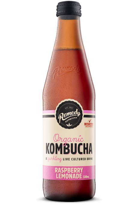 Kombucha - 330ml - Raspberry Lemonade