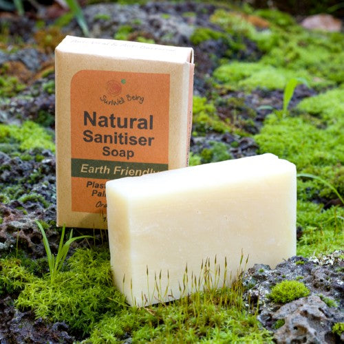 Sun Wellbeing - Orange & Lime Sanitiser Soap