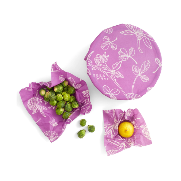 3 Pack Beeswax Wrap - Clover