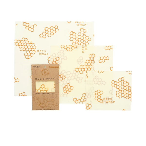 3 Pack Beeswax Wrap - Honeycomb