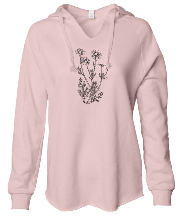 Chamomile - LADIES Lightweight Hooded Sweatshirt