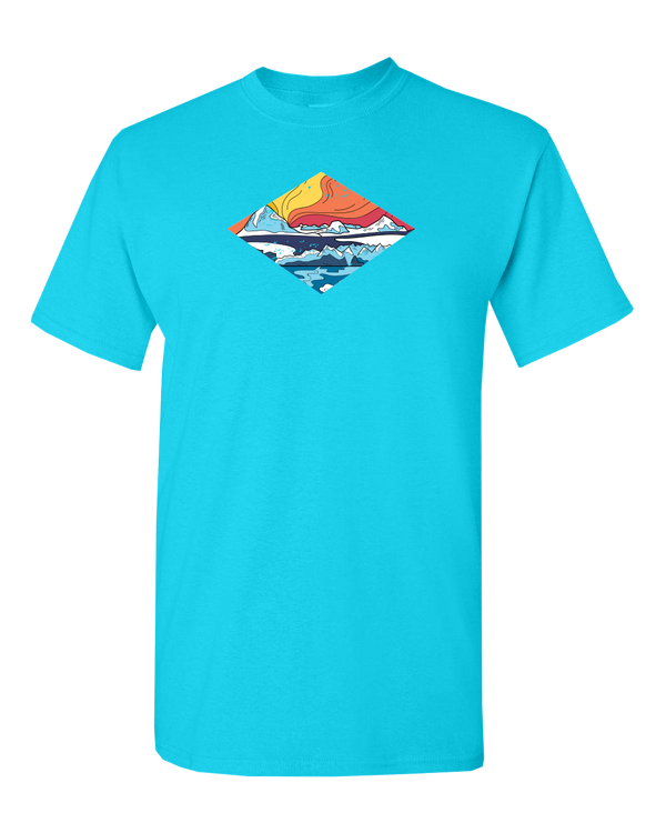 Icy Mountains - ADULT T-Shirt
