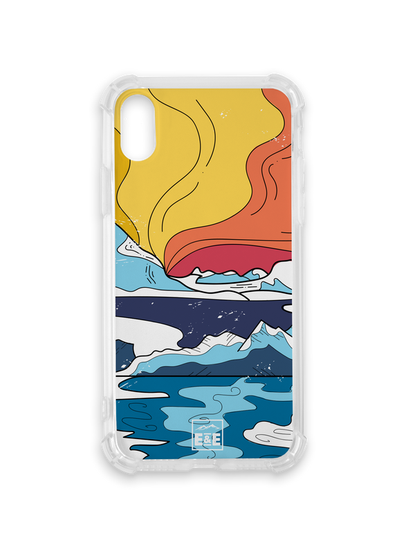 Icy Mountains Phone Case