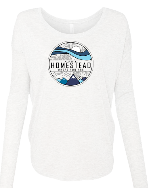 Homestead Where You Are - LADIES Ribbed Long Sleeve