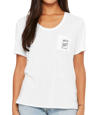 Kilcher Kitchen Jar - LADIES Pocket T-Shirt