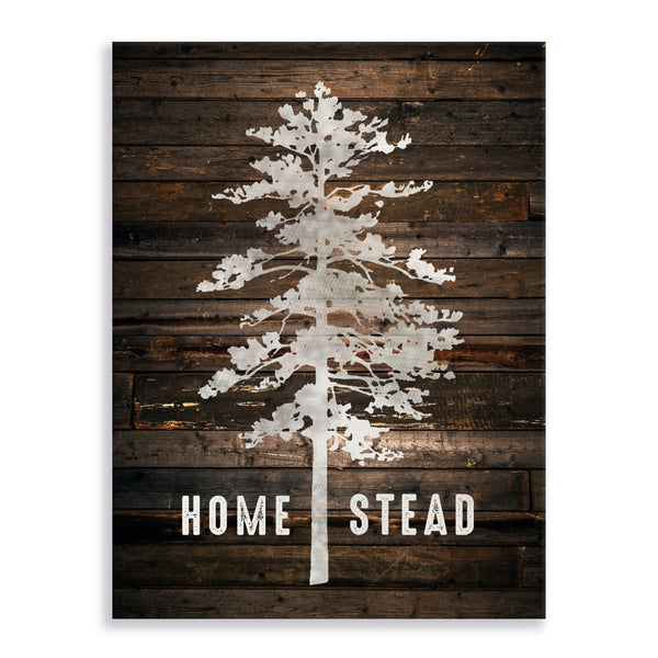Homestead Tree Stretched Canvas Gallery Wrap