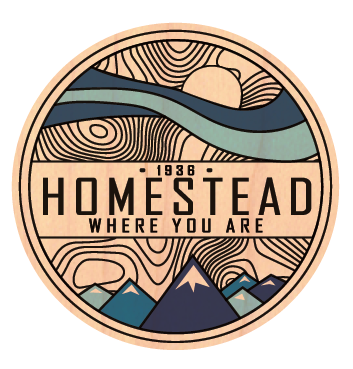 Homestead Where You Are - Wood Stickers
