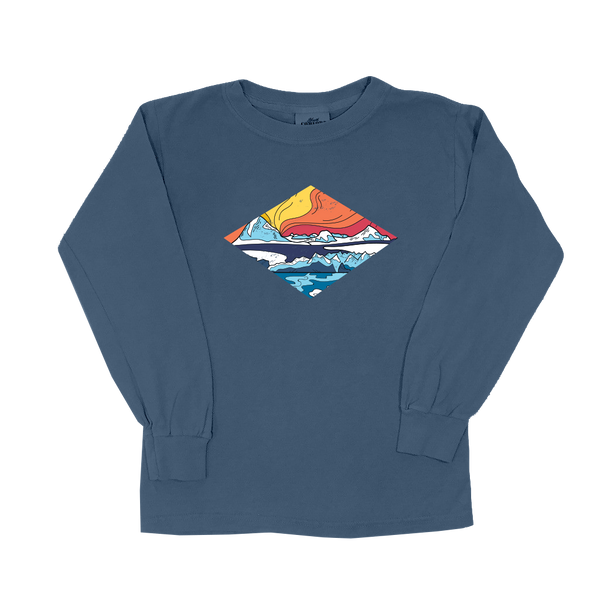 Icy Mountains - Youth Long Sleeve