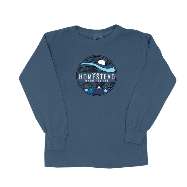 Homestead Where You Are - Youth Long Sleeve