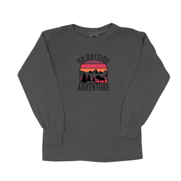 Go Outside Sunset - Youth Long Sleeve