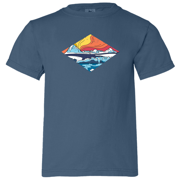 Icy Mountains - Youth T-Shirt