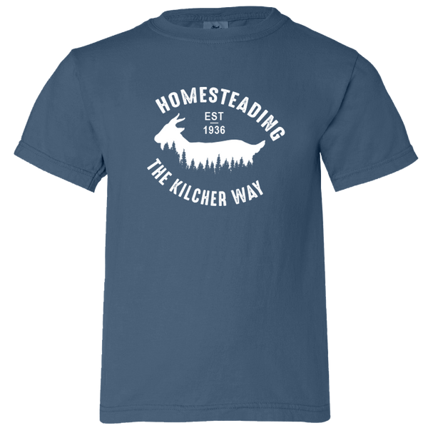 Homesteading Goat - Youth T-Shirt