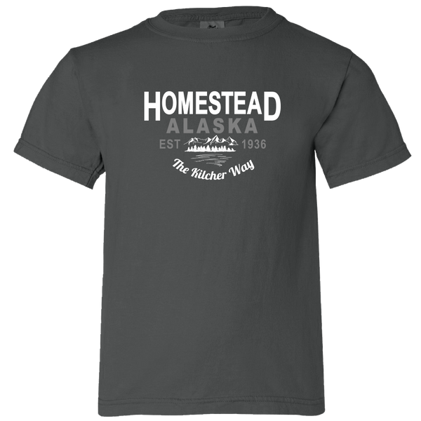 Homestead Alaska - Youth T-Shirt