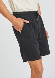 Classic Organic Sweat Shorts Deep Black