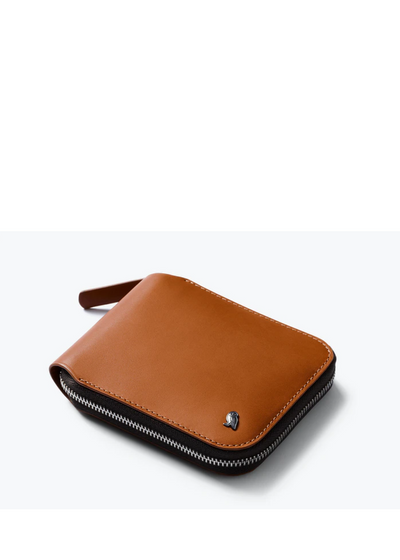 Zip Wallet Caramel