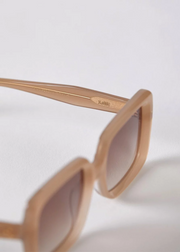 Lou Sunglasses Bone Polished Bronze Gradient