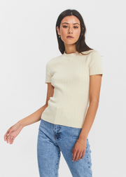 Joan T Shirt Warm White
