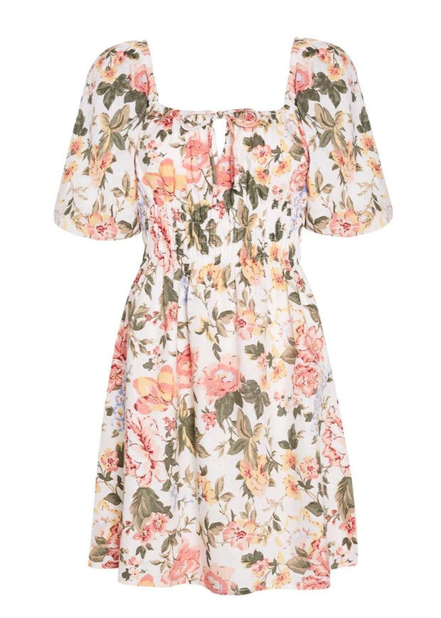Nikoleta Mini Dress Tearo Floral Print