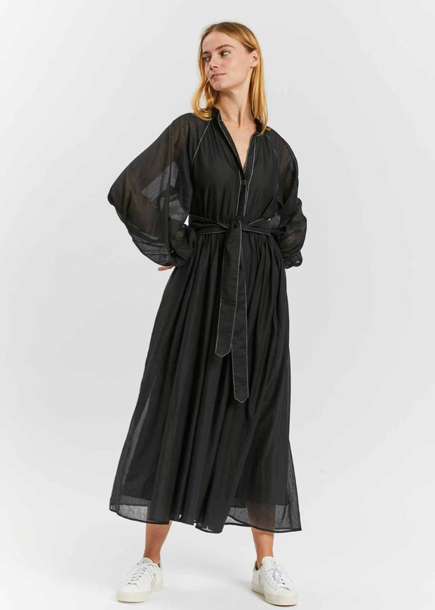 Athena Dress Black