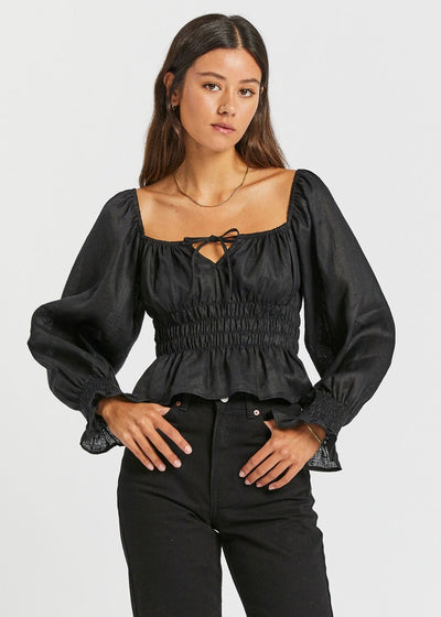 Gillian Top Black