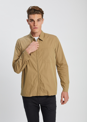 Jens Zip Packable Jacket Utility Khaki