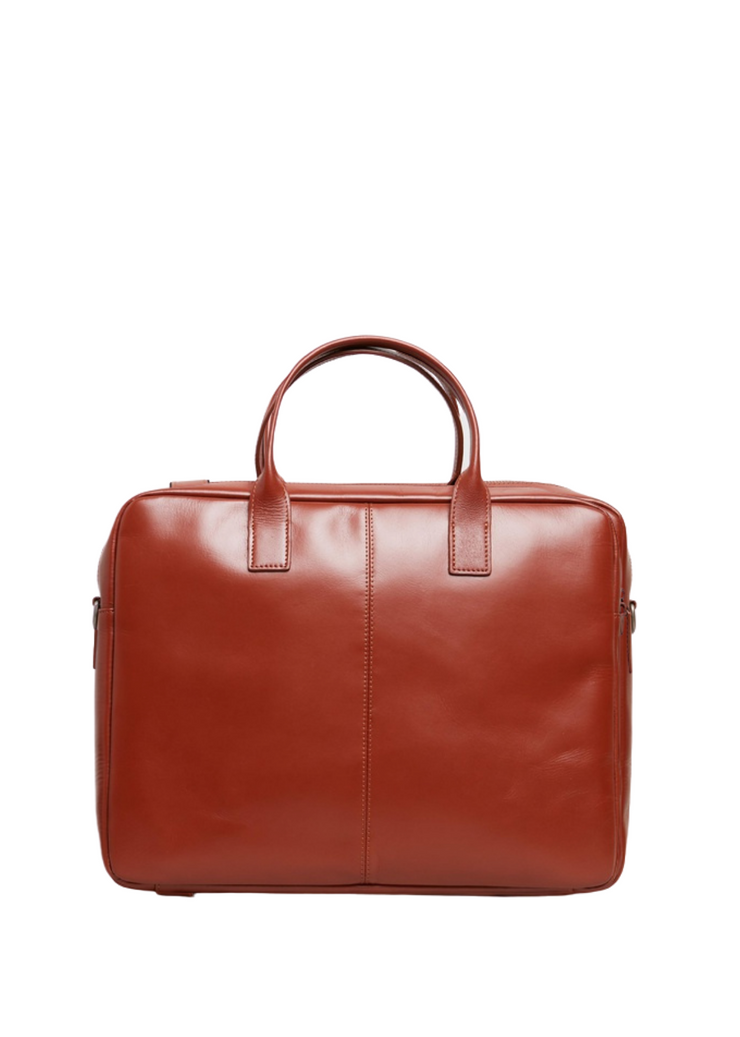 Metropolis Laptop Bag Cognac