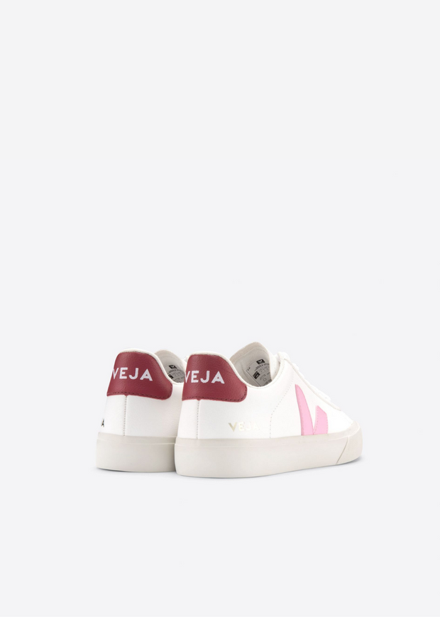 Campo Shoes Extra White Guimauve Marsala