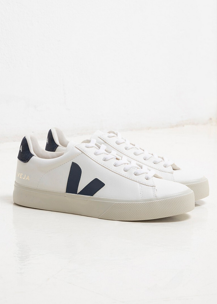 Campo Shoes Chromefree Leather White Nautico