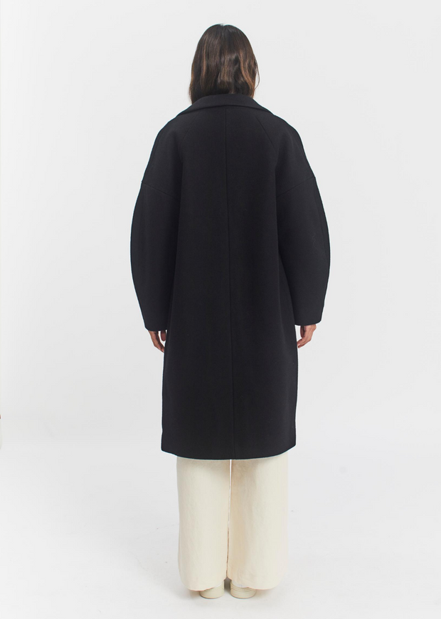 Pierre Coat Black