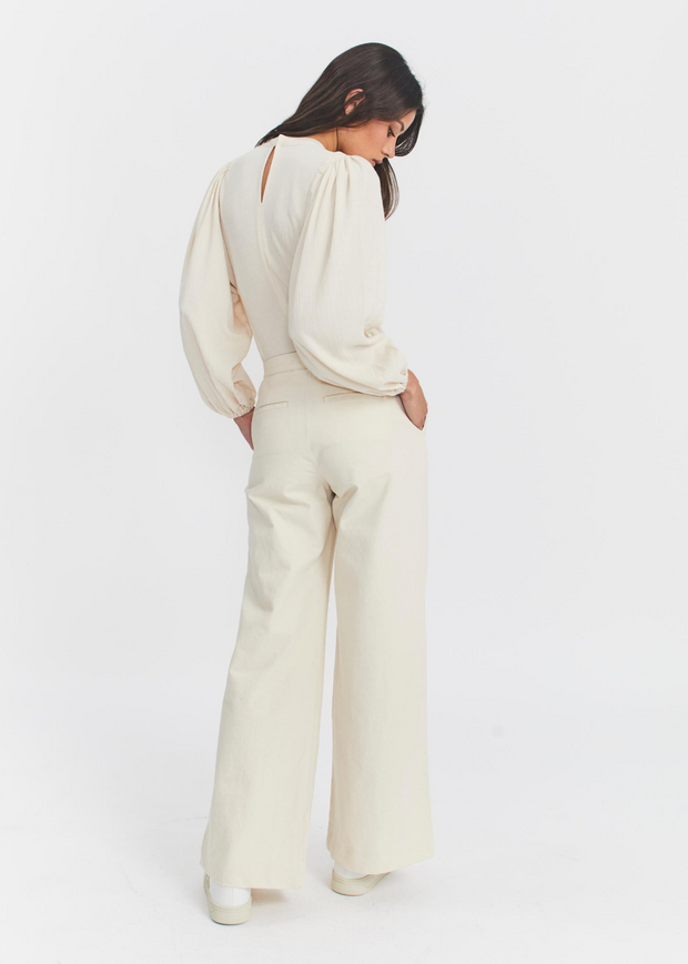 Collot Trousers Warm White