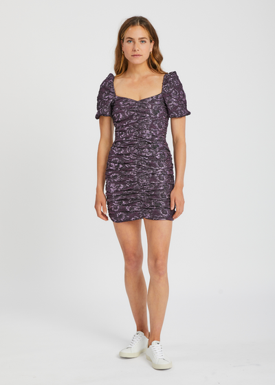 Girasol Dress Purple Jasper