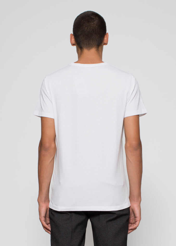 Pima Plain Tee White
