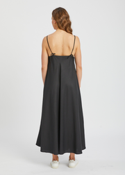 Dawn Slip Dress Black