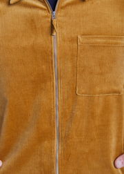 Zip Shirt Camel