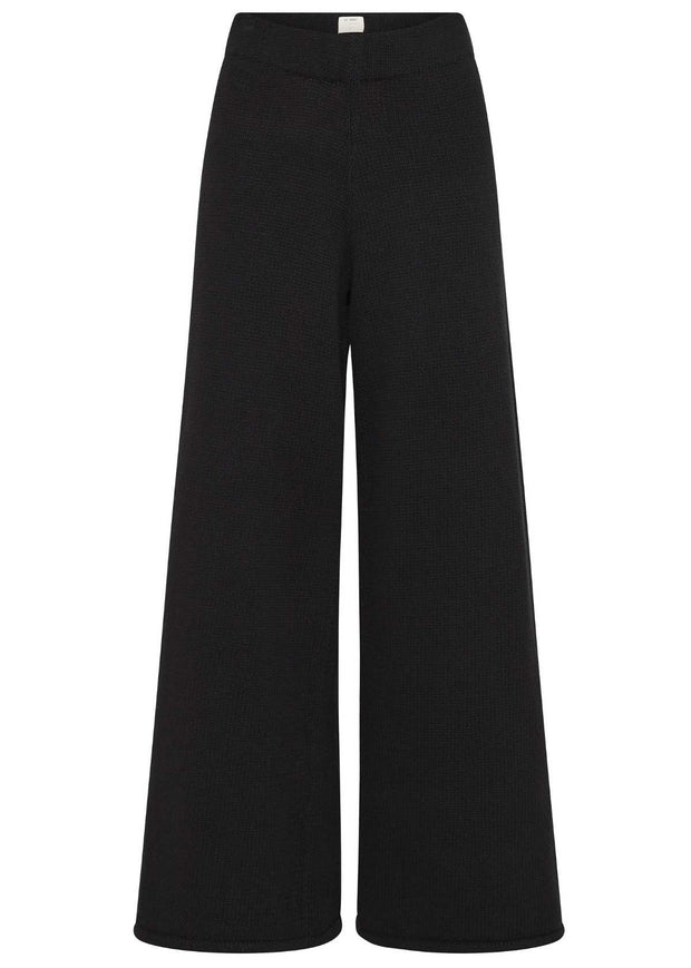 Rem Knit Lounge Pants Black