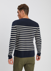 Verner Normandy Cotton Knit Dark Navy