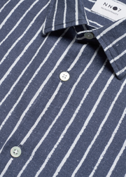 Errico Shirt Blue Stripe
