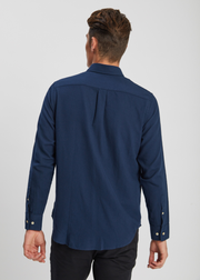 Levon Shirt Navy Blue
