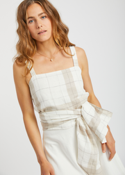 Yone Wrap Top Check