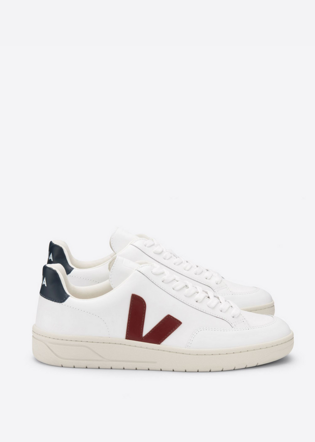 V12 Shoes Extra White Marsala Nautico