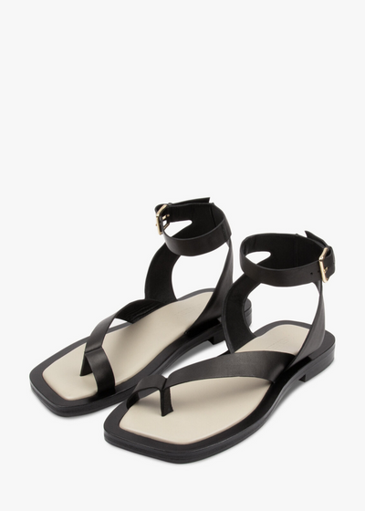 Asher Sandal Black