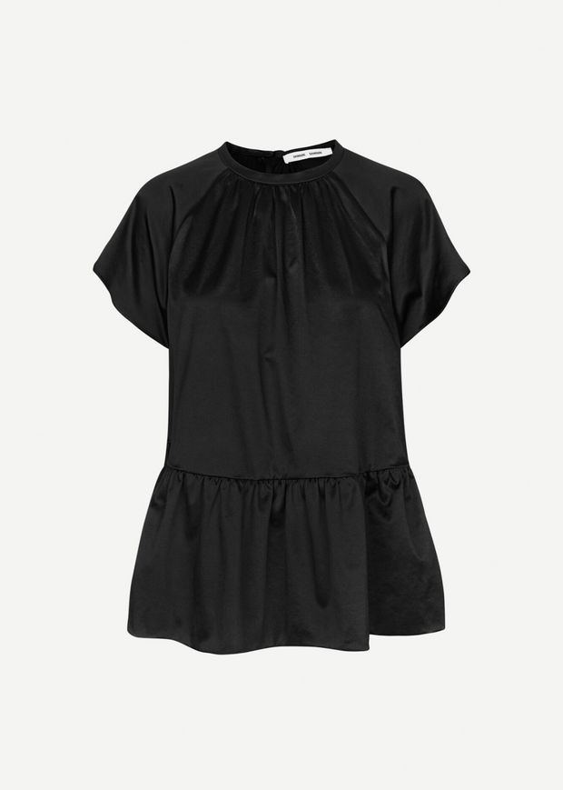 Star Blouse Black