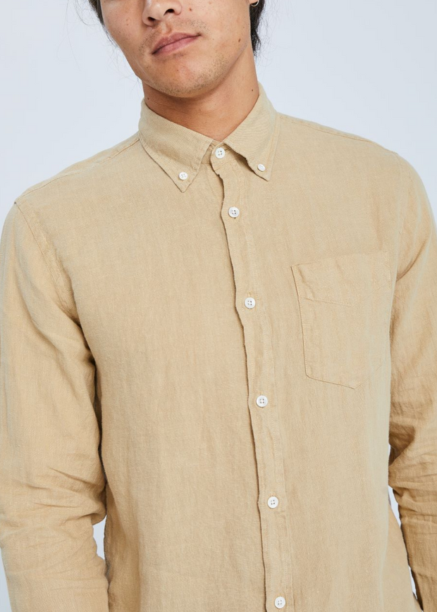 Levon Shirt Sable Khaki