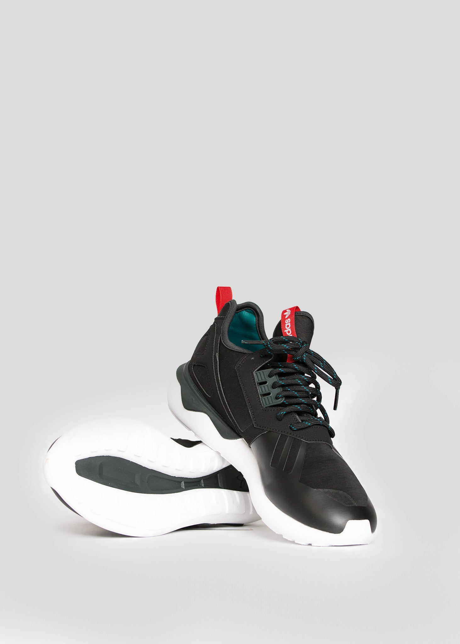 Adidas Tubular Runner (Core Black, White & Silver) End