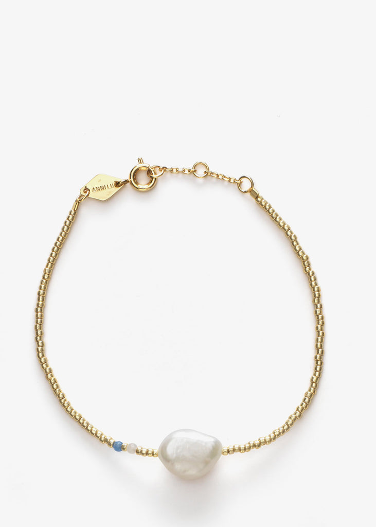 Baroque Pearl Bracelet Cloud Blue