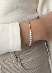 Pearly Alaia Bracelet Gold